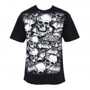 metál póló férfi Avenged Sevenfold - A/O White Deathbats - BRAVADO - 17952081