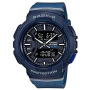 Casio Baby-g Analog-Digital Blue Dial Womens Watch-BX092 (BGA-240-2A1DR)