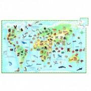 Puzzle observatie Djeco Animalele lumii