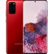 """Telefon Mobil Samsung Galaxy S20 Plus, Procesor Exynos 990 Octa-Core 2.84GHz / 1.8GHz, Dynamic AMOLED 6.7"""", 8GB RAM, 128GB Flash, Camera Cvadrupla 12+12+64+TOF 3D MP, Wi-Fi, 4G, Android (Aura Red) + Cartela SIM Orange PrePay, 6 euro credit, 6 GB internet"""
