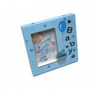 Rama foto cute baby Procart format 10x15 Albastru