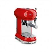 Machine à café expresso rouge 1 L 1350 W ECF01RDEU Smeg