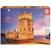 EDUCA Borrás - Torre de Belém - Puzzle 1000 Piezas