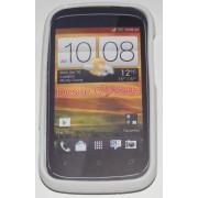 Силиконов гръб ТПУ за HTC Desire C A320e Бял