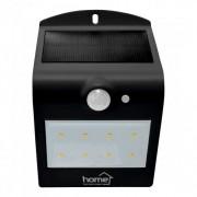 Reflector LED cu panou solar, cu senzor de miscare, negru Home FLP 2/BK Solar, 1200 mAh Autolux