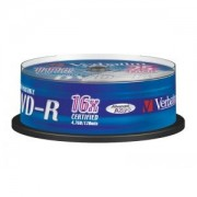 DVD-R 16X 4.7GB AZO PRINTABLE SPINDLE 25