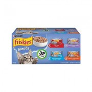 Friskies Savory Shreds Variety Pack Canned Cat Food, 5.5-oz, case of 32