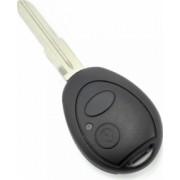 Carcasa cheie 2 butoane cu lama fixa Land Rover negru