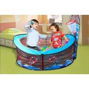 Hangzhou Yuxi Trade Co. Ltd (t/a PinkPree) Kids Pirate Ship Basketball Tent