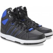 ADIDAS NEO HOOPS TEAM MID Sneakers For Men(Black, Blue)
