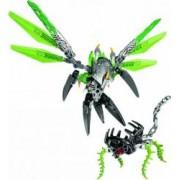 Set Constructie Lego Bionicle Uxar Creatura Junglei