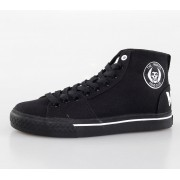 magasszárú cipő női Misfits - Misfits High Top - IRON FIST - Black - IFUVUL2007LIC