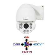 NO BRAND Telecamera Speed dome PTZ 10X 5,1~51 mm 4IN1 IBRIDA 2Mpx HD@1080p OSD IP66 LPS 4.5""