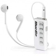 Bluedio Soulmate I5 Clip-on Bluetooth Stereo Earphone Wireless Hedset HD white