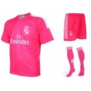 Real Madrid Voetbaltenue Uit Eigen Naam 2014-2015