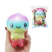 Squishy Baby Dinosaur Slow Rising Toy Animals Cartoon Collection Gift Deocor Toy
