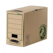Scatole portaprogetti in cartone Fellowes Bankers Box Earth Series Legal - 309824 Scatole porta progetti in cartone 25,5 X 36 cm formato utile documenti legal dorso 15 cm con chiusura ad aletta di colore avana in confezione da 20 Pz.