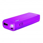 Trust Primo Power Bank 4400 mAh Roxo