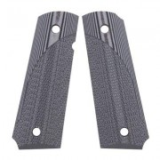 Pachmayr G-10 Tactical Pistol Grips For 1911 - 1911 Full Size Gray/Black Checkered G-10 Grips