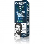 Šampon za kosu i bradu + gel za tuširanje CAMELEO MEN 2u1 150ml