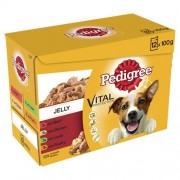 Pedigree Pouch in Jelly Favourites 12x100g