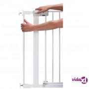 Safety 1st Produžetak za sigurnosnu ogradu 7 cm bijeli metalni 24284310