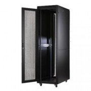Комуникационен шкаф MIRSAN MR.GTAPS32U61.11 ALTER Plus Server/Storage, 600 x 1000 x 1608 мм / 32U, D=1000 мм, 600 кг товар, черен, свободно стоящ
