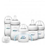 Philips Avent Комплект за новородено Natural PP + тренировъчно шише