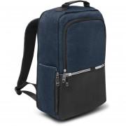 "Backpack Ejecutiva de 16.5"" para laptop Mc.Carthy Mod. MC19-5 Negro/Azul"