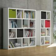 TemaHome Boekenkast Berlin 4 Levels - 150x34x159 - Mat Wit