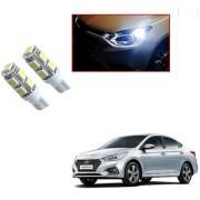 Auto Addict Car T10 9 SMD Headlight LED Bulb for Headlights Parking Light Number Plate Light Indicator Light For Hyundai Verna Nextgen 2017