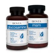 GLUCOSAMIN 500 & MSM 500 SPARPAKET
