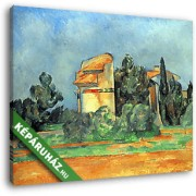 Paul Cézanne: Galambdúc Bellvue-ben (30x25 cm, Vászonkép )