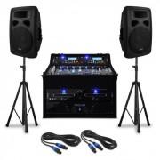 "DJ PA Set ""Urban Trip-Hop Beats"" 250 pessoas 1000W USB"