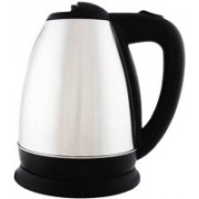 IKITZ 1500W 1.8 Liter Tea Hot Water Heater Boiler Stainless Steel Electric Kettle(1.8, chrome)