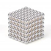 EH Imán Magic Bolas 216pcs Juego de Puzzle magnético 5mm argentado