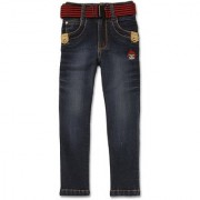 Dig Blue Regular Fit Jeans material cotton pattern solid