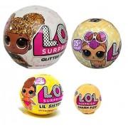 L.O.L. Surprise Bundle Lets Be Friends Glitter Doll, Lil Sisters, Pet and Charm Fizz - 4 LOL Surprises