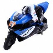 Motocicleta iUni MotoToy 222 Giroscop Scara 1 10 Albastru