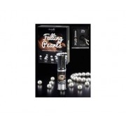 SECRET PLAY Falling Pearls Collar de perlas y lubricante de silicona 15ml