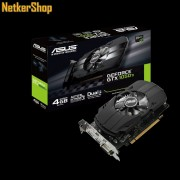 ASUS Nvidia Geforce PH-GTX1050TI-4G 4GB DDR5 PCI Express Videokártya (3 év garancia)