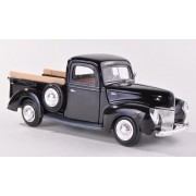 Ford Pick Up, Black, 1940, Model Car, Ready Made, Motormax 1:24