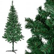 [en.casa]® Изкуствена коледна елха със стойка - 180 см.