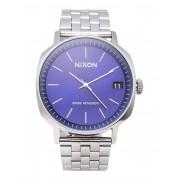 メンズ NIXON A963 Regent II SS 腕時計 ダークブルー
