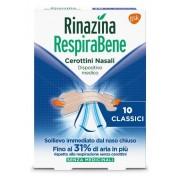 Glaxosmithkline C.Health.Spa RINAZINA RESPIRABENE CEROTTI NASALI CLASSICI CARTON 10 PEZZI