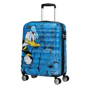 AMERICAN TOURISTER Disney Wavebreaker Trolley Donald Duck Comics 55cm Blu