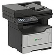 Lexmark MX520 MX522adhe Laser Multifunction Printer - Monochrome - Copier/Fax/Printer/Scanner - 46 ppm Mono Print - 1200 x 1200 dpi Print - Automatic Duplex Print - 1200 dpi Optical Scan (Renewed)