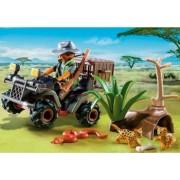Explorator Bandit cu Vehicul PlayMobil