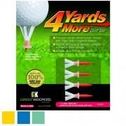 Greenskeeper 4 Yard More Golf Tees (Pack of 4)【ゴルフ その他のアクセサリー>ティー】