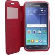 Husa Flip Goospery My-Noble Samsung Galaxy J5 J500 2015 Rosu